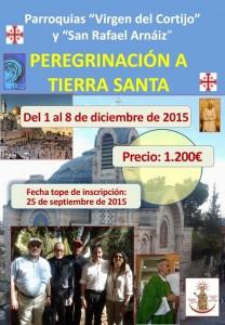 Peregrinación a Tierra Santa 2015